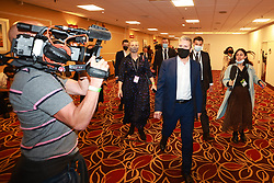 © Licensed to London News Pictures. 25/09/2021. Brighton, UK. Sir KEIR STARMER leaves a meeting of the NEC at the Brighton Metropole Hotel . The first day of the 2021 Labour Party Conference , which is taking place at the Brighton Centre . Photo credit: Joel Goodman/LNP