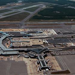 aerial view of Baltimore Washington International Airport