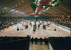Overzicht relay proef<br /> Jumping Mechelen 1998<br /> © Hippo Foto - Dirk Caremans<br /> 03/12/2020