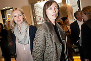 NALYA TROKHAN; ANYA ZOUROVA, - BOOK PARTY FOR A BOOK BY DONNA FRANCESCA CENTURIONE SCOTTO AT Salvatore Ferragamo, 24 Old Bond Street, London W1. 14 May 2009