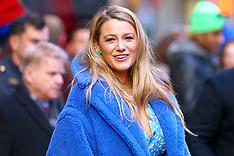 Blake Lively at Times Square - 28 Jan 2020