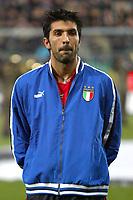 Palermo 18/2/2004 Amichevole - Friendly Match <br />Italy Czech Republic - Italia Repubblica Ceca 2-2 <br />Gianluigi Buffon (Italy)<br />Photo Andrea Staccioli Graffiti