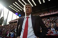 Photo: Olly Greenwood.<br />Charlton Athletic v Arsenal. The Barclays Premiership. 30/09/2006. Arsenal manager Arsene Wenger