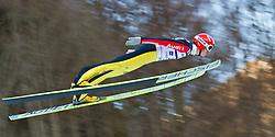 05.02.2011, Heini Klopfer Skiflugschanze, Oberstdorf, GER, FIS World Cup, Ski Jumping, 1. Wertungsdurchgang, im Bild Michael Uhrmann (GER) , during ski jump at the ski jumping world cup in Oberstdorf, Germany on 05/02/2011, EXPA Pictures © 2011, PhotoCredit: EXPA/ P. Rinderer