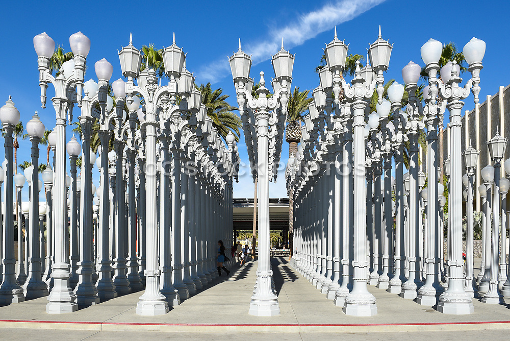 Urban Light art installation LACMA