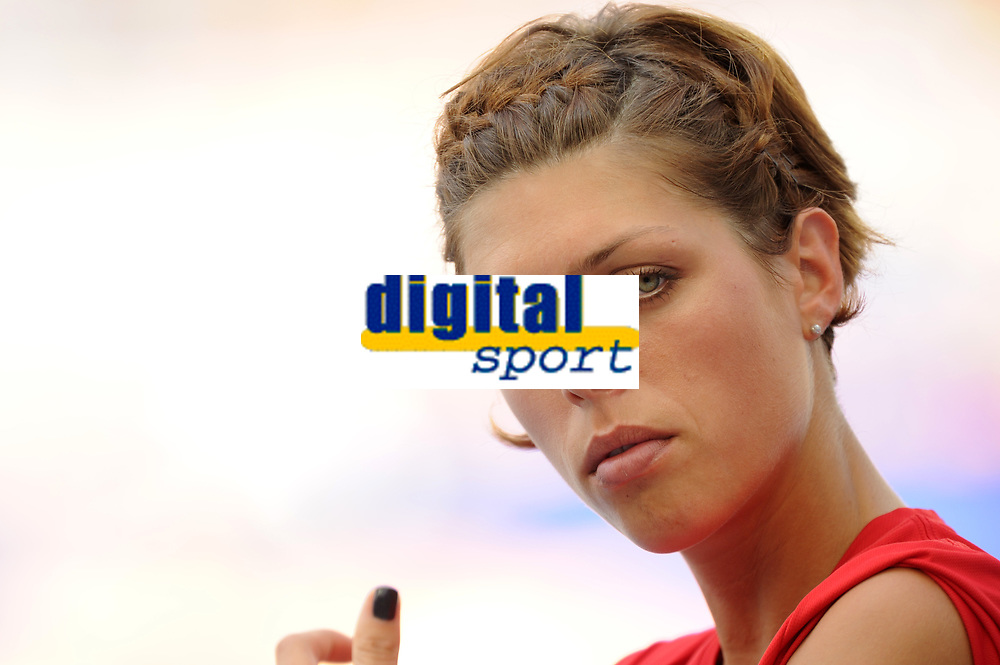 ATHLETICS - IAAF WORLD CHAMPIONSHIPS 2011 - DAEGU (KOR) - DAY 6 - 01/09/2011 - PHOTO : STEPHANE KEMPINAIRE / KMSP / DPPI - <br /> HIGH JUMP - WOMEN - BIANCA VLASIC (CRO)