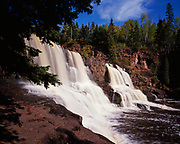 Lower Falls of the Gooseberry River, Gooseberry Falls State Park, Minnesota.