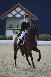 Moller Eva, (GER), Bordeaux 28<br /> Intermediare II - Louisdor-Preis<br /> Horses & Dreams meets Denmark - Hagen 2016<br /> © Hippo Foto - Stefan Lafrentz