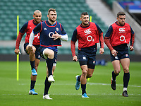 Rugby Union - 2020 Six Nations - England Open Training Session, Twickenham<br /> <br /> England's Elliot Daly during training, at Twickenham Stadium<br /> <br /> COLORSPORT/ASHLEY WESTERN