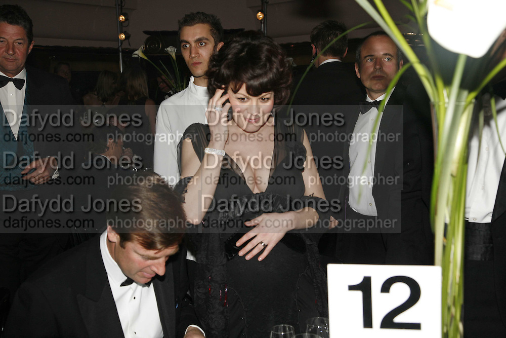 Helen McCrory, Royal Court Theatre 50th Anniversary Gala sponsored by Vanity Fair. Titanic. Brewer St. London. 26 April 2006. ONE TIME USE ONLY - DO NOT ARCHIVE  © Copyright Photograph by Dafydd Jones 66 Stockwell Park Rd. London SW9 0DA Tel 020 7733 0108 www.dafjones.com
