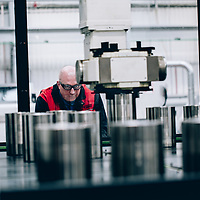 Valves for industrial applications being manufactured and tested in Brighouse , Yorkshire