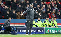 Liverpool manager Jurgen Klopp shouts from the touchline