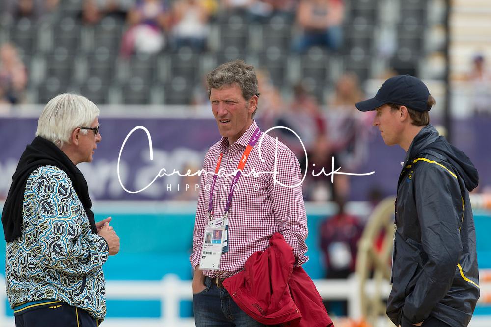 Beerbaum Ludger (GER), Schockemohle Paul (GER)<br /> Olympic Games London 2012<br /> © Dirk Caremans