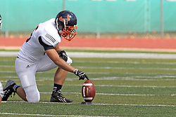 28 September 2013:   during an NCAA division 3 football game between the Hope College Flying Dutchmen and the Illinois Wesleyan Titans in Tucci Stadium on Wilder Field, Bloomington IL