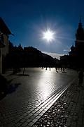 Rynek Główny w Krakowie.<br /> Main Market Square in Cracow.