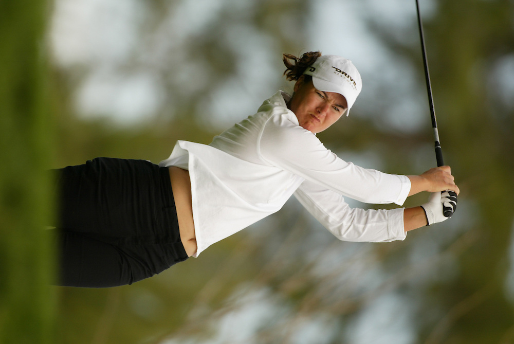 Sophie Gustafson..LPGA Welch's Fry's Championship.Third Round.Dell Urich Course at Randolph Park.Tucson, AZ.Saturday, March 13 2004..photograph by Darren Carroll