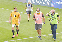Rugby Union - 2019 / 2020 Gallagher Premiership - Bath vs Wasps<br /> <br /> Wasps' Thomas Young leaves the pitch injured, at the Recreation Ground.<br /> <br /> COLORSPORT/ASHLEY WESTERN