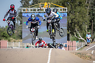 #215 (MCLEAN Joshua) AUS  at Round 9 of the 2019 UCI BMX Supercross World Cup in Santiago del Estero, Argentina