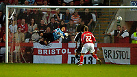 Photo: Ed Godden.<br /> Cheltenham Town v Bristol City. Carling Cup. 22/08/2006.<br /> Brian Wilson (out of picture) score Cheltenhams 2nd.