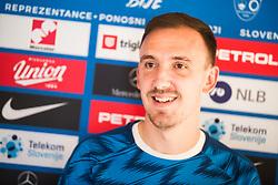 Denis Popovic of Slovenia national football team during practice session, on June 3, 2019 in Kranjska Gora, Slovenia. Photo by Peter Podobnik/ Sportida