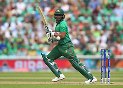 Bangladesh's Shakib Al Hasan during the ICC Cricket World Cup group stage match at The Oval, London.