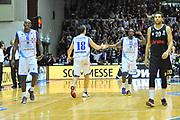 DESCRIZIONE : Eurocup 2013/14 Gr. J Dinamo Banco di Sardegna Sassari -  Brose Basket Bamberg<br /> GIOCATORE : Omar Thomas<br /> CATEGORIA : Ritratto Esultanza<br /> SQUADRA : Dinamo Banco di Sardegna Sassari <br /> EVENTO : Eurocup 2013/2014<br /> GARA : Dinamo Banco di Sardegna Sassari -  Brose Basket Bamberg<br /> DATA : 19/02/2014<br /> SPORT : Pallacanestro <br /> AUTORE : Agenzia Ciamillo-Castoria / Luigi Canu<br /> Galleria : Eurocup 2013/2014<br /> Fotonotizia : Eurocup 2013/14 Gr. J Dinamo Banco di Sardegna Sassari - Brose Basket Bamberg<br /> Predefinita :