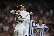 Cristiano and Di Maria Celebrating 2-1 goal