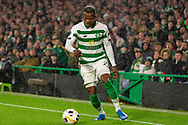 Boli Bolingoli during the Europa League match between Celtic and CFR Cluj at Celtic Park, Glasgow, Scotland on 3 October 2019.