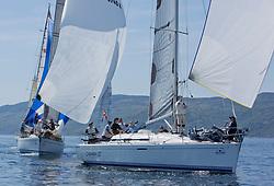 Silvers Marine Scottish Series 2017<br /> Tarbert Loch Fyne - Sailing<br /> <br /> IRL1666, Carmen II, Jeffrey/Scutt, CCC/HSC, First 36.7
