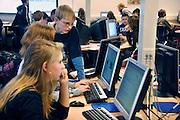 Nederland, Hardenberg, 19-12-2007..VMBO school De Nieuwe Veste. ..Foto: Flip Franssen