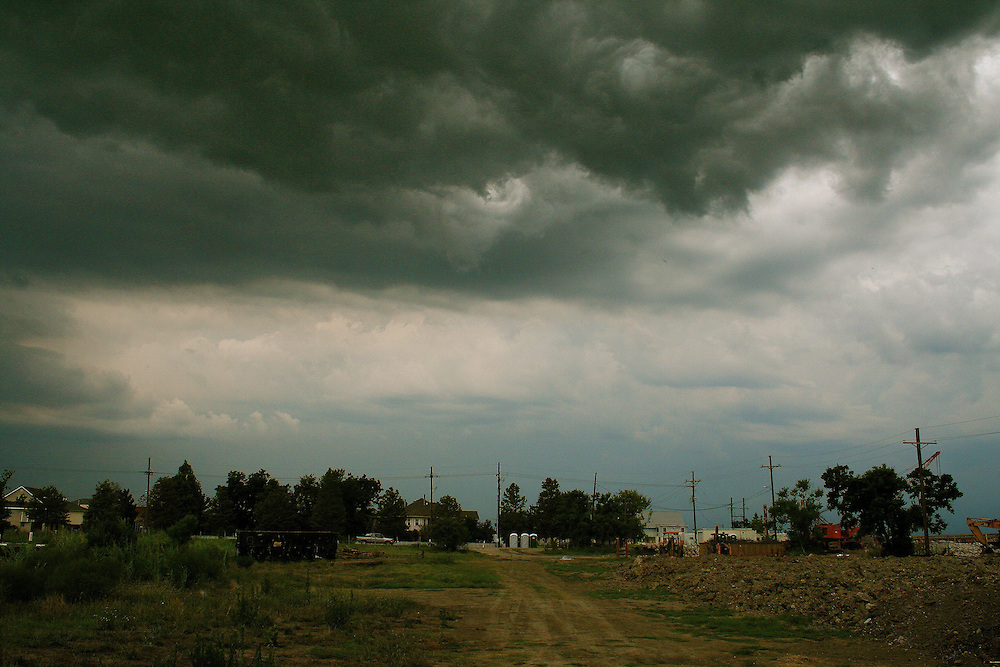Incoming Thunderstorm, Venetian Isles, Orleans Parish, LA