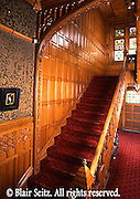 Stairway, Asa Packer Mansion, Jim Thorpe, NE PA