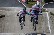 #993 (NAGASAKO Yoshitaku) JPN during round 4 of the 2017 UCI BMX  Supercross World Cup in Zolder, Belgium.