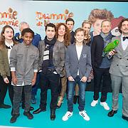 NLD/Amsterdam/20151206 - Filmpremiere Dummie de Mummie en de Sfinx van Shakaba, Cast