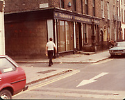 Old Dublin Amature Photos August 1983 WITH, Regans Pub, Behind Guinnesses, Canal, Four Seasons Pub, Bolton St, Henrietta Place, Dominic St, Tobacco Distributors Pearse St, James St, Grand Canal, Harolds St, Kevin St, The Orchard Kilmainham Irishtown, H.C. Old Dublin Amature Photos February 1984 WITH, Brian Boru Pub, Cross Guns Bridge, Ranks Mill, Shandon Park Mills, Drumcondra, Whitehall, Rd, Rathoath Finglas, Sign Post, TV Picture Portugal, Gratton Motors, Blue Hous, Mrs Cleary, Fogertys Pub, Mount St, Old amateur photos of Dublin streets churches, cars, lanes, roads, shops schools, hospitals