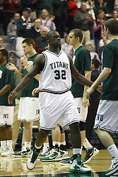 17 December 2011:  Victor Davis during an NCAA mens division 3 basketball game between the Washington University Bears and the Illinois Wesleyan Titans in Shirk Center, Bloomington IL
