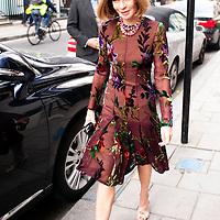 London, UK - 19 September 2012: 'Vogue' Editor-in-Chief Anna Wintour, fashion designer Tom Ford, and White House senior adviser David Plouffe host fundraising dinner in London for President Barack Obama's 2012 re-election bid.
