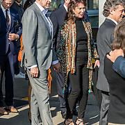 NLD/Katwijk/20170403 - 100ste geboortedag Erik Hazelhoff Roelfzema, Patricia Steur met haar nieuwe relatie