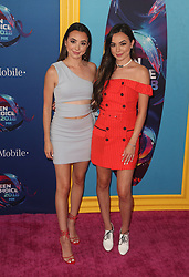 FOX's Teen Choice Awards 2018 at The Forum in Inglewood. California on August 12, 2018. CAP/MPIFS ©MPIFS/Capital Pictures. 12 Aug 2018 Pictured: Veronica Merrell, Vanessa Merrell. Photo credit: MPIFS/Capital Pictures / MEGA TheMegaAgency.com +1 888 505 6342