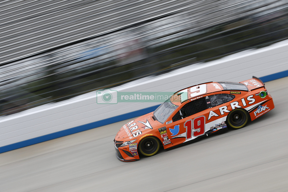 October 5, 2018 - Dover, Delaware, United States of America - Daniel Suarez (19)  takes to the track to practice for the Gander Outdoors 400 at Dover International Speedway in Dover, Delaware. (Credit Image: © Justin R. Noe Asp Inc/ASP via ZUMA Wire)