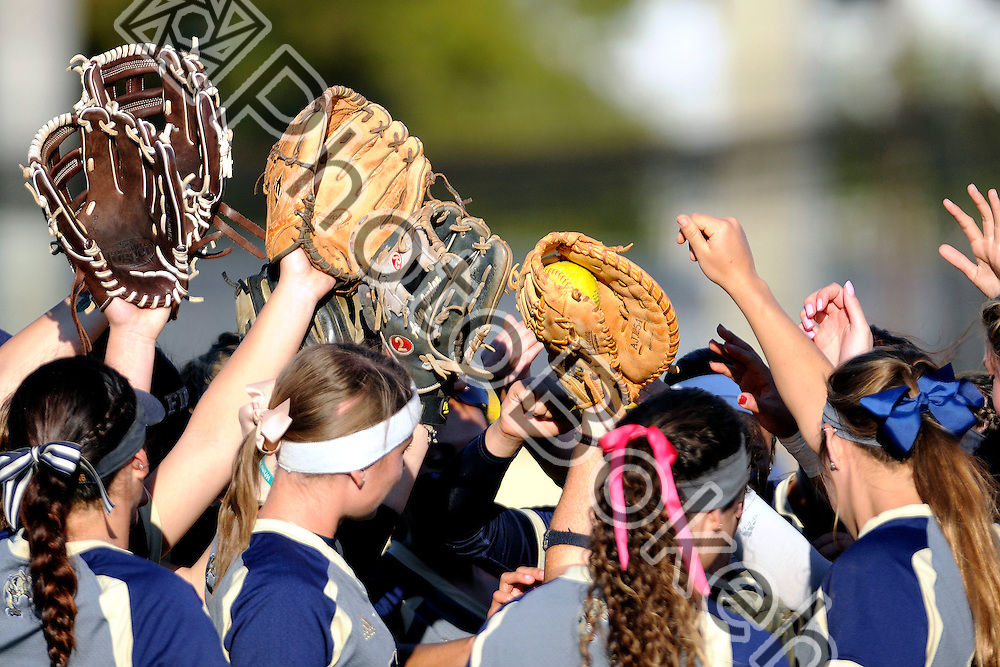 2015 February 13 - FIU's softball team. Florida International University defeated Memphis, 3-2, at the Felsberg Field at the FIU Softball Stadium, Miami, Florida. (Photo by: Alex J. Hernandez / photobokeh.com) This image is copyright by PhotoBokeh.com and may not be reproduced or retransmitted without express written consent of PhotoBokeh.com. ©2015 PhotoBokeh.com - All Rights Reserved
