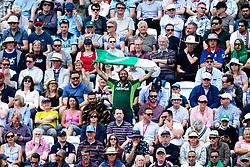 A Pakistan fan waves his flag - Mandatory by-line: Robbie Stephenson/JMP - 03/06/2019 - CRICKET - Trent Bridge - Nottingham, England - England v Pakistan - ICC Cricket World Cup 2019 Group Stage