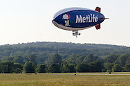 MetLife Blimp Snoopy Two at Orange County Airport