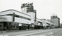 1949 Tom Breneman's Restaurant on Vine St.