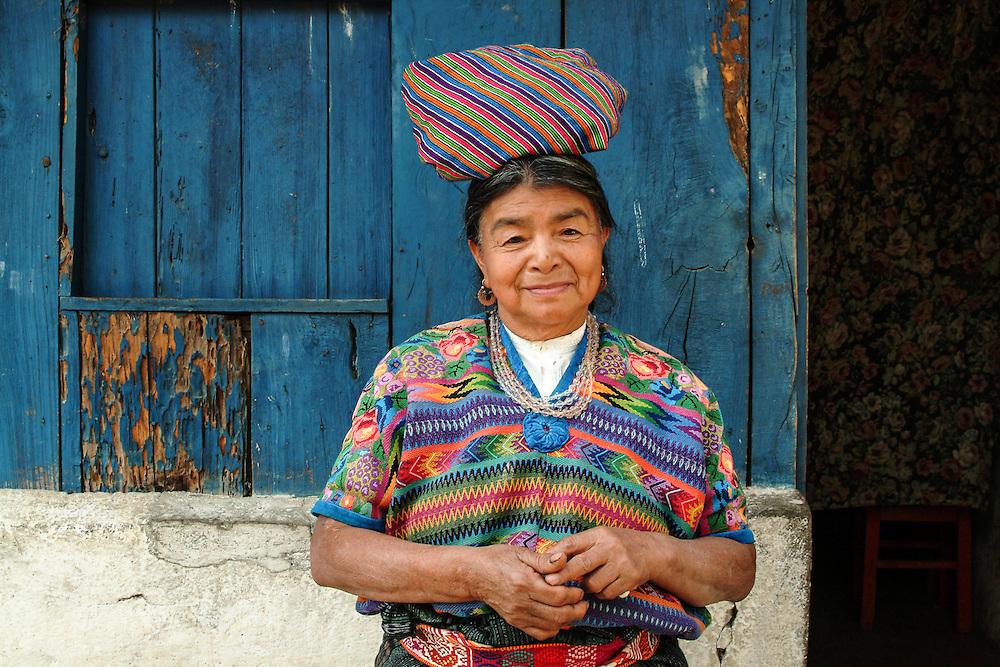 Woman with Bundle, Guatemala