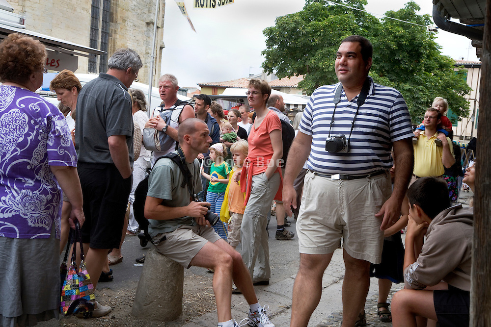 mass tourism during summer season