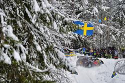 February 15, 2018 - Suede - Sebastien Ogier (FRA) – Julien Ingrassia (FRA) - Ford Fiesta WRC (Credit Image: © Panoramic via ZUMA Press)