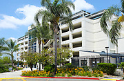 The State College Parking Structure, Adjacent to the Student Recreation Center on Campus at California State University Fullerton