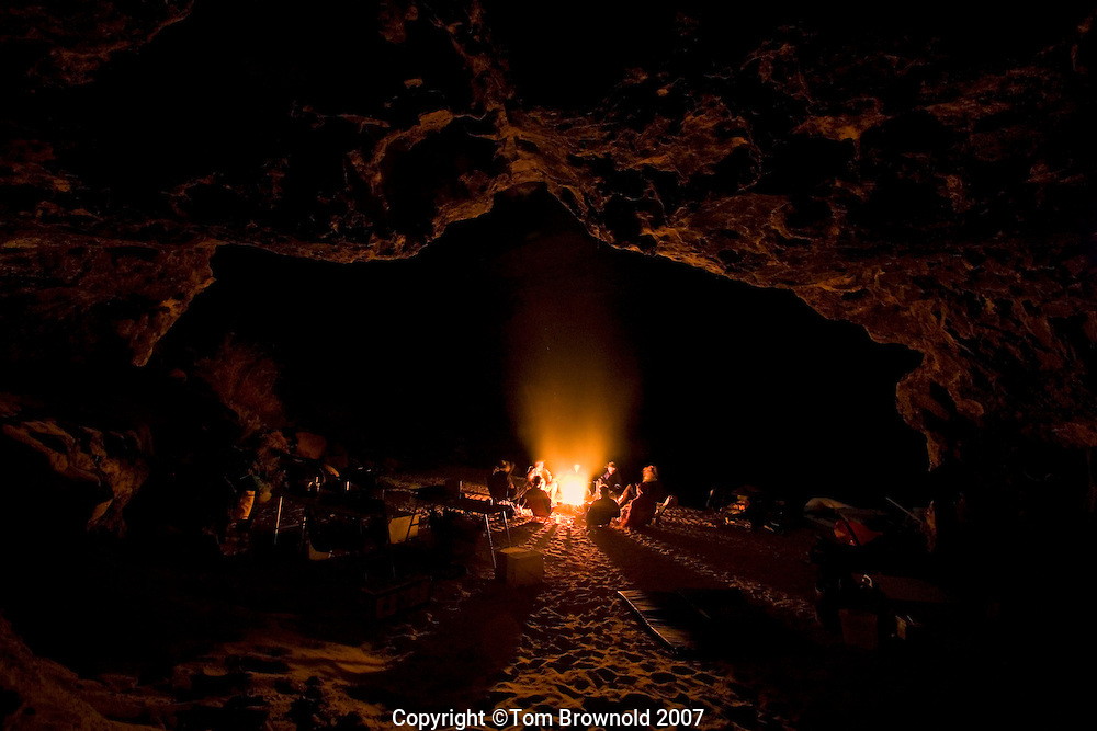 Camp at Cave Springs river mile 29 +/-
