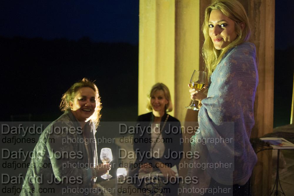 LARA FROST; VICKI CHURCH; FLEUR YEMMEK, Opening of Grange Park Opera, Fiddler on the Roof, Grange Park Opera, Bishop's Sutton, <br /> Alresford, 4 June 2015